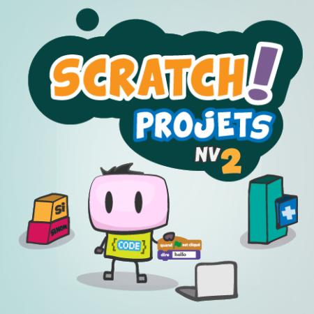 Projets SCRATCH débutants-intermédiaires